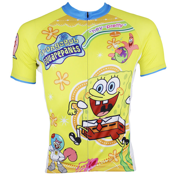 SpongeBob SquarePants Gary Patrick Star Sandy Cheeks Men's Cycling Jersey Summer T-shirt -  Cycling Apparel, Cycling Accessories | BestForCycling.com