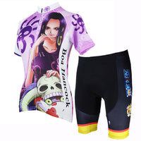 ONE PIECE Series Boa Hancock Empress Pirates Woman's Cycling Suit Jersey Team Jacket T-shirt Summer Spring Autumn Clothes Sportswear Anime NO.148 -  Cycling Apparel, Cycling Accessories | BestForCycling.com