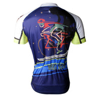Riding Bike At Night Men's Cycling Jersey T-shirt NO.739 -  Cycling Apparel, Cycling Accessories | BestForCycling.com
