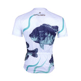 Men's Cycling Fish White Bike Shirt Summer Jersey NO.744 -  Cycling Apparel, Cycling Accessories | BestForCycling.com