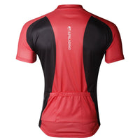 Simple Red&Black Men's Short-Sleeve Cycling Jersey Bicycling Summer T-shirt NO.703 -  Cycling Apparel, Cycling Accessories | BestForCycling.com