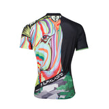 Ilpaladino Multicoloured Zebra Head Breathable Cycling Jersey Men's  Short-Sleeve Sport Bicycling Shirts Summer Quick Dry Wear NO.633 -  Cycling Apparel, Cycling Accessories | BestForCycling.com