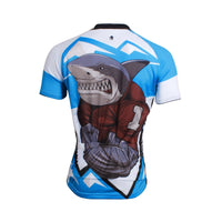 Ilpaladino Muscular Shark Gridder Breathable Cycling Jersey Men's  Short-Sleeve Sport Bicycling Shirts Summer Quick Dry  Wear NO.643 -  Cycling Apparel, Cycling Accessories | BestForCycling.com