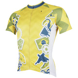 ILPALADINO Men's Cycling Brazil World Cup Games Pattern Football Fans Fashionable and Breathable Bike Riding  Short Sleeve Shirt NO.152 -  Cycling Apparel, Cycling Accessories | BestForCycling.com