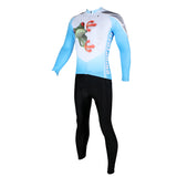 ILPALADINO Men's  Long Sleeves Cycling Jersey Winter Exercise Bicycling Pro Cycle Clothing Racing Apparel Outdoor Sports Leisure Biking Shirts (Velvet) NO.156 -  Cycling Apparel, Cycling Accessories | BestForCycling.com