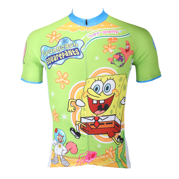 4649ee3ec ... ILPALADINO SpongeBob SquarePants Gary Patrick Star Sandy Cheeks Men s Cycling  Jersey Summer Bicycling Pro Cycle Clothing ...