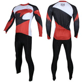 d7d70a407 ... Hot Sale Outdoor Cycling Clothing White and Red Cycling Jersey  Wholesale Men s Long-sleeved Jersey ...