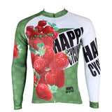 Happy Cycling Summer Fruit Strawberry Men's Short/Long-Sleeve Cycling Jersey Biking Shirts Breathable Outdoor Sports Gear Leisure Biking T-shirt Sports Clothes NO.174 -  Cycling Apparel, Cycling Accessories | BestForCycling.com