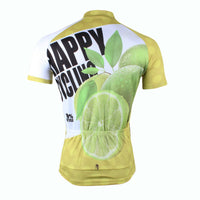 Happy Cycling Summer Fruit Lemon Men's Short-Sleeve Cycling Jersey Suit Biking Wear Breathable Outdoor Sports Gear Leisure Biking T-shirt Sports Clothes NO.177 -  Cycling Apparel, Cycling Accessories | BestForCycling.com