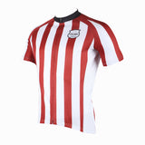 ILPALADINO Football Style Red White Stripes Blue White Stripes Short-Sleeve Cycling Suit Jersey Apparel Outdoor Sports GearApparel Team Kit -  Cycling Apparel, Cycling Accessories | BestForCycling.com