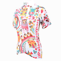 Ilpaladino lively Owl Women's Quick Dry Short-Sleeve Cycling Jersey Biking Shirts Breathable Summer Apparel Outdoor Sports Gear Clothes NO.195 -  Cycling Apparel, Cycling Accessories | BestForCycling.com