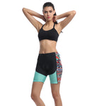 Womens Cycling Shorts with 4D Gel Padded - Breathable Women Bike Shorts Biker Pants for Outdoor Biking Riding 650