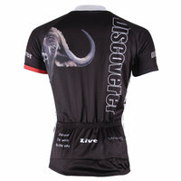 Melancholic Lion Men's Short-Sleeve Black Cycling Jersey Bicycling Shirts Summer NO.301 -  Cycling Apparel, Cycling Accessories | BestForCycling.com