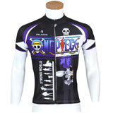 ONE PIECE Series Pirates Skeletal Musician Brook Men's Cycling Suit Jersey Team Jacket T-shirt Summer Spring Autumn Clothes Sportswear Anime Animation Manga Paramecia-type Revive Devil Fruit Eater NO.072 -  Cycling Apparel, Cycling Accessories | BestForCycling.com