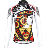 ILPALADINO  Playing Cards Poker Face Heart Queen Women's Long Sleeves Cycling Jerseys Bike Shirt Face Cards Court Cards Spring Autumn Pro Cycle Clothing Racing Apparel Outdoor Sports Leisure Biking shirt  NO.641 -  Cycling Apparel, Cycling Accessories | BestForCycling.com