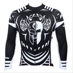 Hot Sale Cycling Jersey  Cycling Jersey Wholesale Outdoor Men's Long-sleeved Jersey for Spring and Summer Black and White Ultraviolet Resistant Fabric Outdoor Sportswear(velvet) NO.077 -  Cycling Apparel, Cycling Accessories | BestForCycling.com