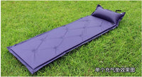 Nine-Dot 2.5cm/5cm Single Camping Mat Self-Inflating Sleeping Pad Inflatable Tent Air Mattress with Attached Pillow and Foldable Infinite Splicing Dampproof Waterproof for Outdoor Hiking Backpacking Tour Fishing Beach -  Cycling Apparel, Cycling Accessories | BestForCycling.com