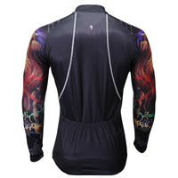 ILPALADINO  Gipsy Lion Cool Graphic Arm Print Men's Cycling Long-sleeve Black Jerseys - Spring Summer Exercise Wear Bicycling Pro Cycle Clothing Racing Apparel Outdoor Sports Leisure Biking Shirts Team Kit Personalized Styles NO.375 -  Cycling Apparel, Cycling Accessories | BestForCycling.com