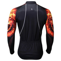 Cycling Jersey Wholesale Ultraviolet Resistant Men's Cycling Long-sleeved Jersey for Spring and Summer Fashionable Jersey Leisure Sportswear Black(velvet) -  Cycling Apparel, Cycling Accessories | BestForCycling.com