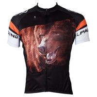 ILPALADINO Animal Brown Bear Nature Men's Professional MTB Cycling Jersey Breathable and Quick Dry Comfortable Bike Shirt for Summer NO.551 -  Cycling Apparel, Cycling Accessories | BestForCycling.com