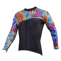 Mens Patterns Full-Zipper Stylish Long-sleeves Cycling Jersey for Winter Outdoor Leisure Sport Breathable and Quick Dry Bike Windproof Jacket Bicycle Clothing 525(velvet) -  Cycling Apparel, Cycling Accessories | BestForCycling.com