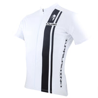 ILPALADINO Man's Short-sleeve Cycling Jersey/ Suit Team Jacket T-shirt Summer Suit Spring Autumn Clothes Sportswear White Shirt Black Strip NO.010 -  Cycling Apparel, Cycling Accessories | BestForCycling.com