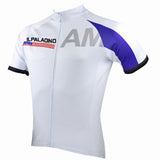 Ilpaladino American Simple White Men's Breathable Quick Dry Short-Sleeve Cycling Jersey Bicycling Shirts Summer Sport  Upper Wear  NO.059 -  Cycling Apparel, Cycling Accessories | BestForCycling.com