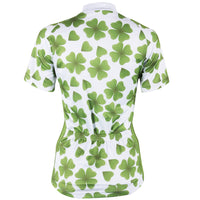 Ilpaladino Four Leaf Clover Summer Women's Short-Sleeve Cycling Jersey Biking Shirts Breathable Outdoor Sports Gear Leisure Biking T-shirt Sports Clothes NO.508 -  Cycling Apparel, Cycling Accessories | BestForCycling.com