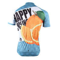 Happy Cycling Summer Fruit Orange Men's Short-Sleeve Cycling Jersey Suit NO.176 -  Cycling Apparel, Cycling Accessories | BestForCycling.com