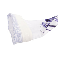 Blue Chrysanthemum Porcelain Style Professional Outdoor Sport Wear Compression Arm Sleeve Oversleeve Blue& White Porcelain Series Pair Breathable UV Protection Tattoo CoverUnisex NO. X013 -  Cycling Apparel, Cycling Accessories | BestForCycling.com