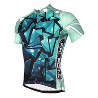 ILPALADINO Green Glass Men's Professional MTB Cycling Jersey Breathable and Quick Dry Comfortable Bike Shirt for Summer NO.517 -  Cycling Apparel, Cycling Accessories | BestForCycling.com