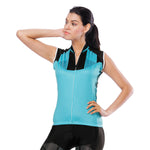Simple Cool Blue Women's Cycling Sleeveless Bike Jersey T-shirt Summer Spring Road Bike Wear Mountain Bike MTB Clothes Sports Apparel Top NO. 805 -  Cycling Apparel, Cycling Accessories | BestForCycling.com