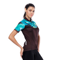 Green Blue Diamond Women's Cycling Short-sleeve Bike Jersey T-shirt Summer Spring Road Bike Wear Mountain Bike MTB Clothes Sports Apparel Top NO.810 -  Cycling Apparel, Cycling Accessories | BestForCycling.com