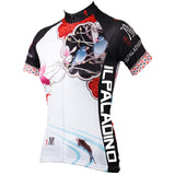 Ilpaladino Magnolias Women Cycling Jerseys Short-sleeve summer Sportswear Gear Pro Cycle Clothing Racing Apparel Outdoor Sports Leisure Biking Shirt NO.546 -  Cycling Apparel, Cycling Accessories | BestForCycling.com