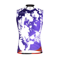 White Wing Feather Purple Men's Cycling Sleeveless Bike jersey T-shirt Summer Spring Road Bike Wear Mountain Bike MTB Clothes Sports Apparel Top NO.W 668 -  Cycling Apparel, Cycling Accessories | BestForCycling.com
