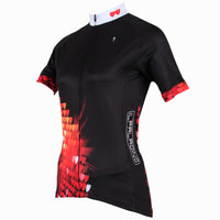 Ilpaladino Heart  Women's Quick Dry Black Short-Sleeve  Cycling Jersey Biking Shirts Breathable Summer Apparel Outdoor Sports Gear Wear NO.213 -  Cycling Apparel, Cycling Accessories | BestForCycling.com
