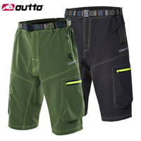 Mens Outdoor Cycling Shorts Outdoor Sports MTB Shorts Mountain Bike Biking Pants with Zip Pockets Grey/Green #1506 -  Cycling Apparel, Cycling Accessories | BestForCycling.com