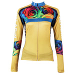 Ilpaladino Romantic Roses Women's Long-Sleeve/Short-sleeve Cycling Jersey/Suit  Spring Autumn Exercise Bicycling Pro Cycle Clothing Racing Apparel Outdoor Sports Leisure Biking Shirts Breathable Sports Clothes NO.223 -  Cycling Apparel, Cycling Accessories | BestForCycling.com
