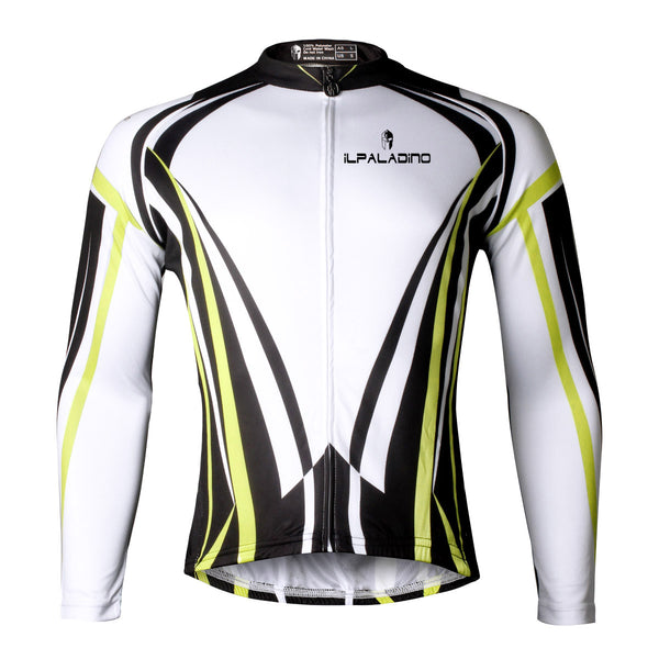 ILPALADINO Yellow/Orange/Blue/Green/Red Professional MTB Cycling Jersey Long-Sleeve Spring/Autumn Mountain Bike Exercise Bicycling Pro Cycle Clothing Racing Apparel Outdoor Sports Leisure Biking Shirts