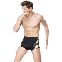 ILPALADINO Green Strips Mens 3D Padded Cycling Underwear Shorts Bicycle Underpants Lightweight Bike Biking Shorts Breathable Bicycle Pants Lightweight NO.CK98 -  Cycling Apparel, Cycling Accessories | BestForCycling.com