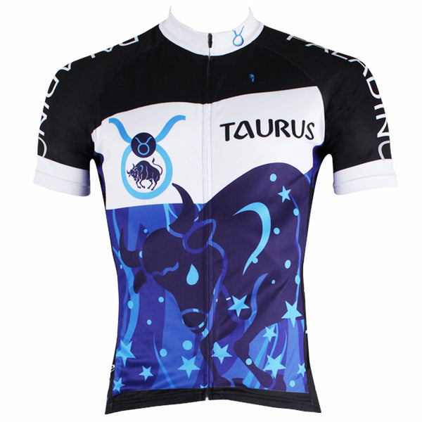 Ilpaladino Constellation Series 12 Horoscopes Taurus Persistence Man's Short-sleeve Cycling Jersey Team Pro Cycle Jacket T-shirt Summer Spring Clothes Leisure Sportswear Apparel Signs of the Zodiac NO.261 -  Cycling Apparel, Cycling Accessories | BestForCycling.com
