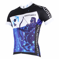 Ilpaladino Sagittarius Pursuit Constellation Series 12 Horoscopes Man's Short-sleeve Cycling Jersey Team Pro Cycle Jacket T-shirt Summer Spring Clothes Leisure Sportswear Apparel Signs of the Zodiac NO.264 -  Cycling Apparel, Cycling Accessories | BestForCycling.com