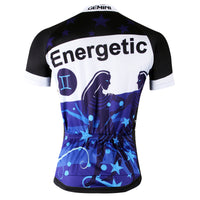 Ilpaladino Gemini Energetic Constellation Series 12 Horoscopes Man's Short-sleeve Cycling Jersey Team Pro Cycle Jacket T-shirt Summer Spring Clothes Leisure Sportswear Apparel Signs of the Zodiac NO.267 -  Cycling Apparel, Cycling Accessories | BestForCycling.com