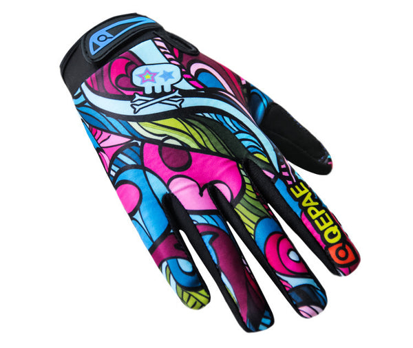 Bike MTB gloves with Cartoon pattern design for off-road motorcycles -  Cycling Apparel, Cycling Accessories | BestForCycling.com