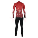 ILPALADINO Women's Long Sleeves Red Fashionable Apparel Outdoor Sports Gear Leisure Biking T-shirt Cycling Clothing Suits with Tights -  Cycling Apparel, Cycling Accessories | BestForCycling.com