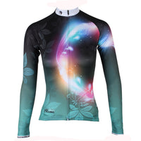 ILPALADINO  Women's Long Sleeves Dark Green Cycling Jersey with Tights Spring Autumn Pro Cycle Clothing Racing Apparel Outdoor Sports Leisure Biking shirt NO.276 -  Cycling Apparel, Cycling Accessories | BestForCycling.com