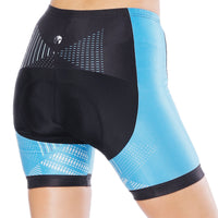 Blue Black Womans Cycling Spinning Padded Bike Shorts UPF 50+ Summer Pant Road Bike Wear Mountain Bike MTB Clothes Sports Apparel Quick dry Breathable NO. 798 -  Cycling Apparel, Cycling Accessories | BestForCycling.com