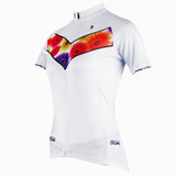 Chrysanthemum Women's Short-sleeve Cycling Jersey/Suit Spring Biking Shirts and Chest flowers Jersey 280 -  Cycling Apparel, Cycling Accessories | BestForCycling.com