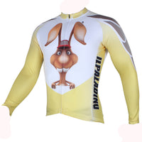 ILPALADINO Rabbit Men's Professional MTB Cycling Jersey Breathable and Quick Dry Comfortable Bike Shirt for Spring Autumn NO.287 -  Cycling Apparel, Cycling Accessories | BestForCycling.com