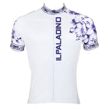 ILPALADINO Purple Decorative Cool Graphic Arm Print Men's Cycling Long/Short-sleeve White Jerseys - Spring Summer Exercise Wear Bicycling Pro Cycle Clothing Racing Apparel Outdoor Sports Leisure Biking Shirts Team Kit Personalized Styles NO.024 -  Cycling Apparel, Cycling Accessories | BestForCycling.com